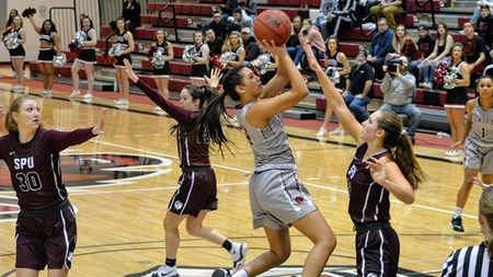Guard Alexis Pana dropped 21 points in last week's big win over Saint Martin's. The junior leads Central Washington in scoring at 14.9 points per game.