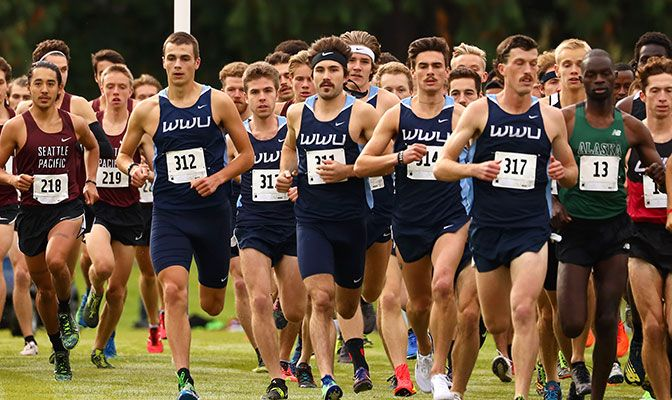 Led by Eric Hamel, Western Washington beat Alaska Anchorage by 19 points in the men's race at the Western Washington Classic in Bellingham on Saturday.