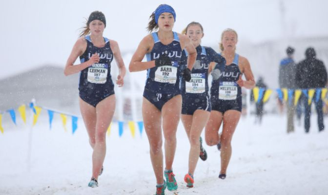 Led by junior Jane Barr, the WWU women edged out defending champion Alaska Anchorage by seven points.