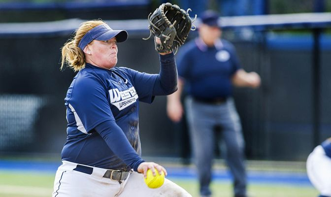 Makinlee Sellevold and the WWU softball team earned a two-seed in the GNAC Championships Thursday.