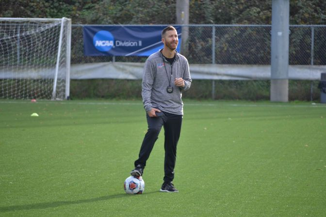 Head coach Clint Schneider has his Simon Fraser team ranked No. 1 in Division II heading into the month of October.