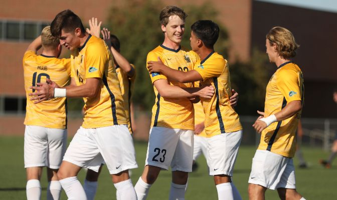 The Yellowjackets will control their own destiny as they hit the road to play at Simon Fraser on Thursday and Western Washington on Saturday.