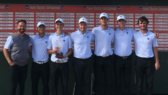 The Vikings placed four players inside the top-10 in their first tournament of the fall campaign.