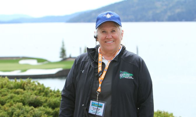 Susan Prugh, who has officiated at the last three GNAC Golf Championships in Coeur d'Alene, Idaho, will be a member of the officiating crew at this week's U.S. Open at Pebble Beach.