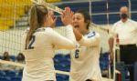 Nanooks, Falcons Lead First Week Volleyball Unbeatens