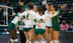 First Half Of Conference Volleyball Play Ends With Tight Race