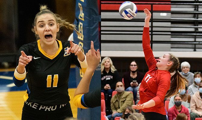 Weber, Gooding Lead Record Numbers on VB All-Academic