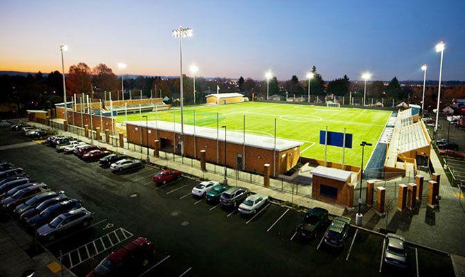 Hilken Community Stadium, on the northwest corner of Concordia's campus, will host the GNAC Baseball and Women's Soccer Championships.