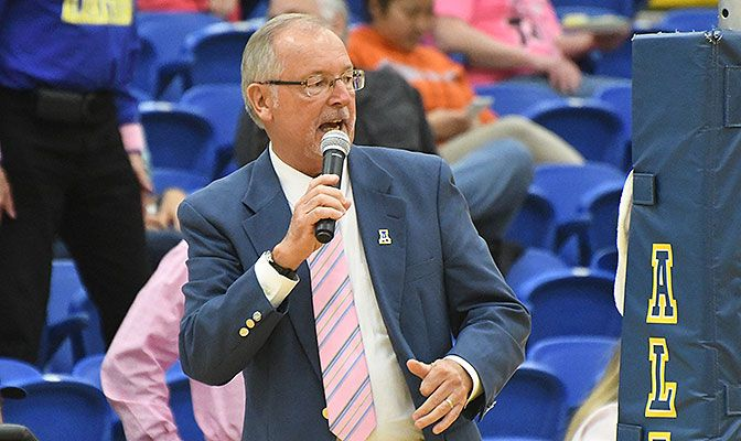 Dr. Gary Gray is in his fifth year as the director of athletics for the Alaska Nanooks.