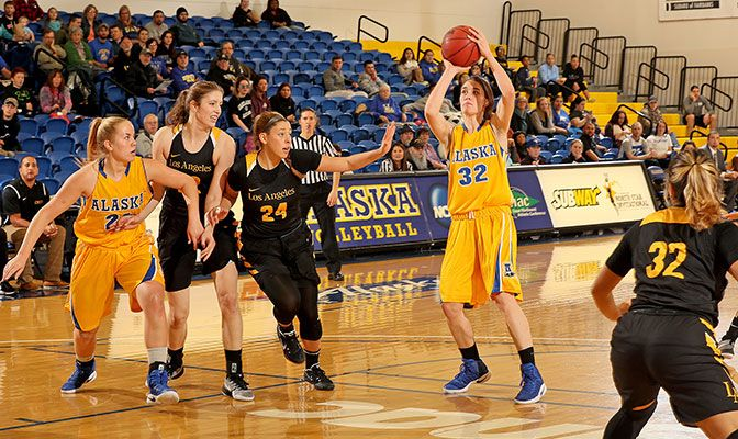 The Nanooks made 46.7% of their shots over the weekend.