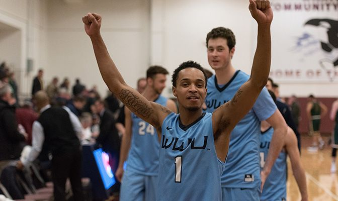 Western Washington returned to first place in the GNAC with its win over UAA.