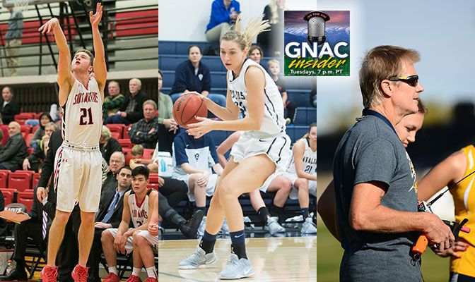 Peacock, Coppock and Copp will be on GNAC Insider live on Tuesday at 7 p.m. Pacific.