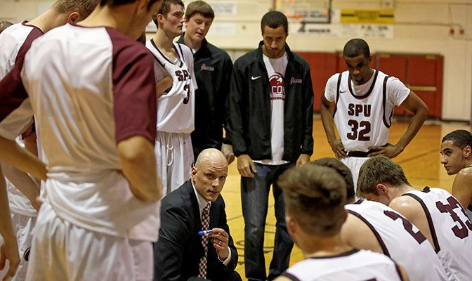 Grant Leep is in his first year as the head coach at Seattle Pacific.