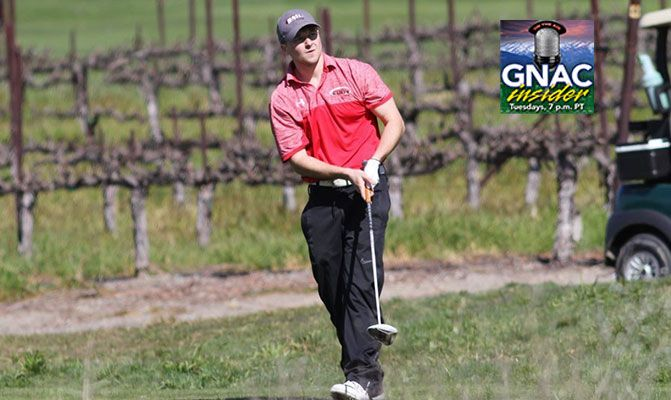 Ryan Pickthorn will be featured on GNAC Insider after two top-10 finishes at golf tournaments this spring.