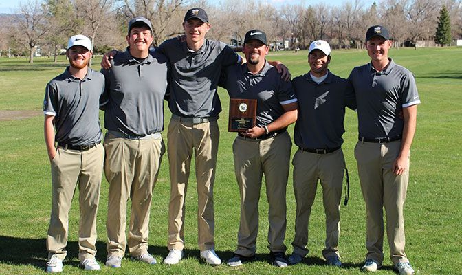 Montana State Billings won the Yellowjacket Spring Invite, taking first place out of eight teams.