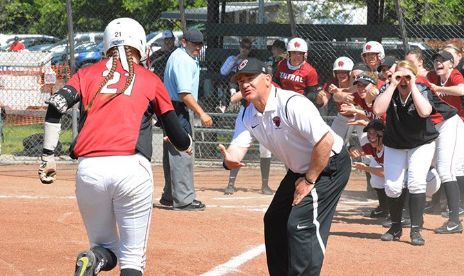 Mike Larabee is in his second year as the head coach at Central Washington softball.