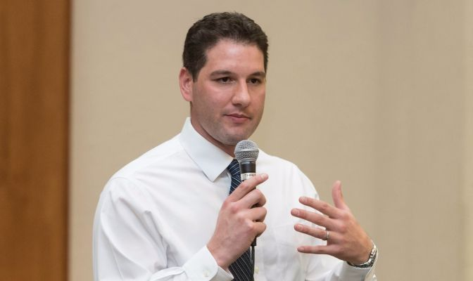 Brian Jamros is finishing his second year as vice president and athletic director at Concordia University.