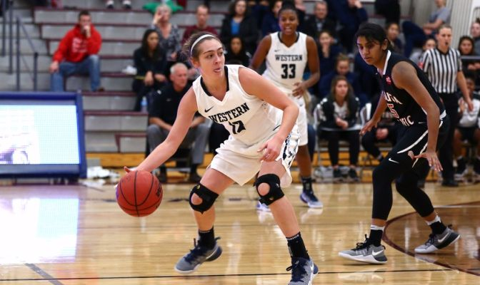 Amanda Lance played in 20 games for the Vikings in 2016-17, playing a season-high 16 minutes early in the season against Fresno Pacific.