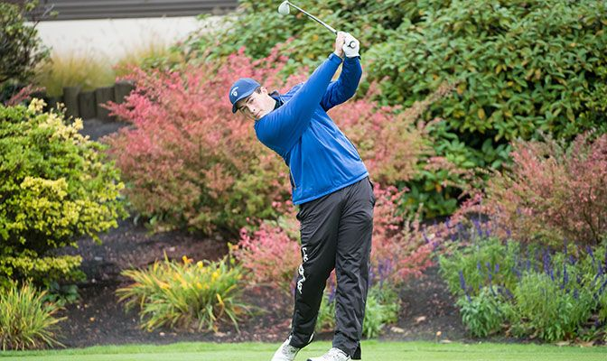Named GNAC Player of the Week, Dylan Cramer finished the Hanny Stanislaus Invitational in a tie for fifth place to lead the Cavaliers to a second-place team finish.