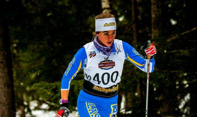 Sarissa represented Alaska at the US Skiing Cross Country Championships last year.