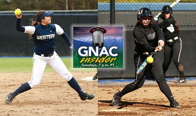 Twins Cylie (left) and Carlie (right) Richards have helped Western Washington reach the GNAC Championships as the No. 2 seed.