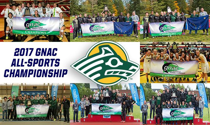 Alaska Anchorage won seven GNAC team championships in 2016-17 and finished no worse than third in any of its GNAC sponsored sports.