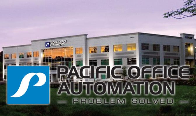 Pacific Office Automation is headquartered in Portland, Oregon.