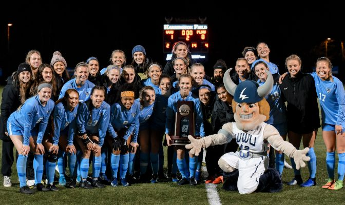 The Vikings await Dixie State at 3 p.m. on Saturday at Harrington Field. The winner will advance to the NCAA Division II Semifinals.