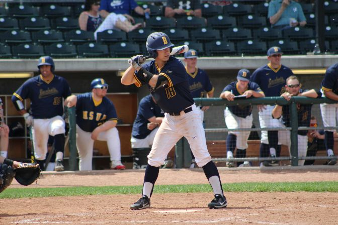 Last season, Montana State Billings outfielder Jalen Garcia helped lead his club to a first-place finish in the GNAC with a .351 batting average and 51 RBI.