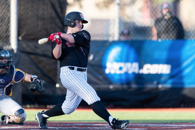 Western Oregon junior Connor McCord received NCBWA All-West Region First Team honors after being named as a unanimous First Team All-GNAC selection earlier this month.