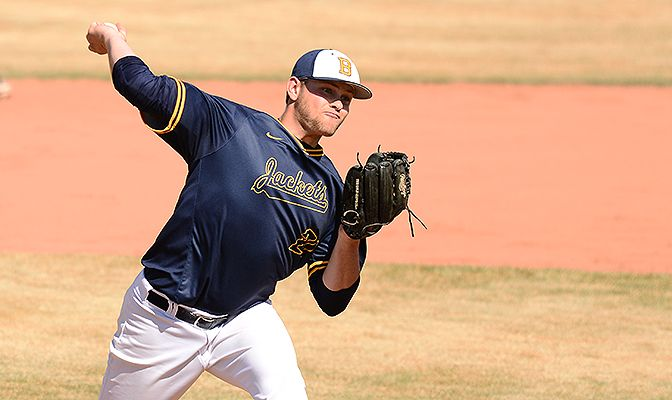 Cody Cooper earned First Team All-GNAC honors for the second straight season after finishing third in the GNAC with a 2.81 earned run average.