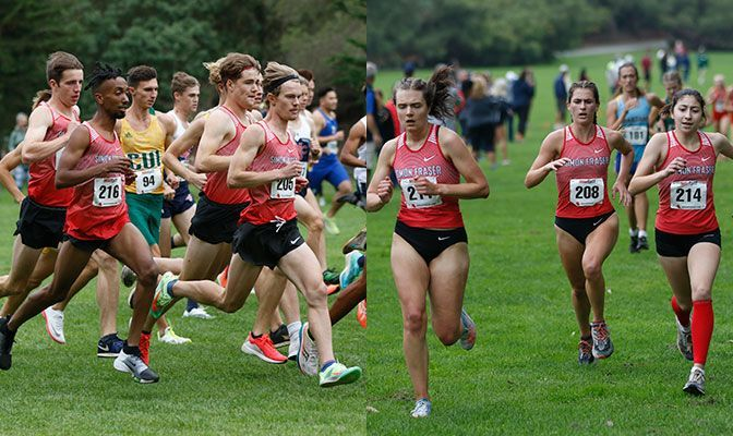 The Simon Fraser cross country program was named GNAC Team of the Week after both their men's and women's teams won races.