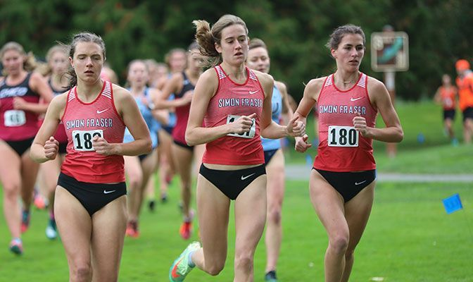 Simon Fraser Sets Pace Leading Into GNAC Championships