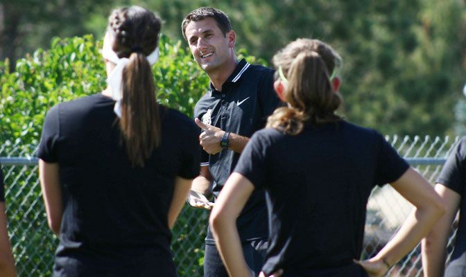 Stephen Cavallo is entering his fifth year with the MSUB women's soccer program and his second as head coach.