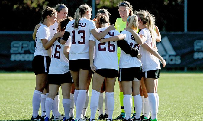 Through four non-conference games, Seattle Pacific has scored seven goals and attempted 42 shots. The Falcons march into conference play on Sept. 16, at Simon Fraser.