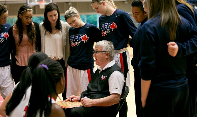 Simon Fraser defeated three California teams in four games over five days.