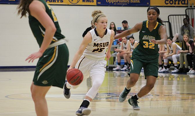 Kane scored a GNAC-best 42 points this week, including a career-high 25 against Western Oregon.