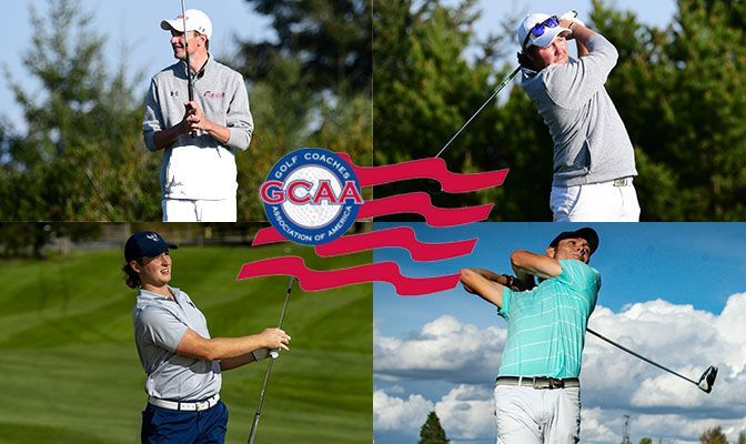 Four GNAC Players Named To PING All-West Region Team