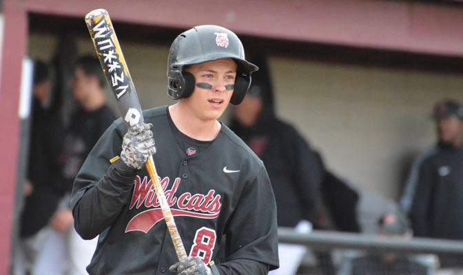 Central Washington second baseman Ryan Atkinson drove in eight runs in the Wildcats' first series win since Feb. 8.