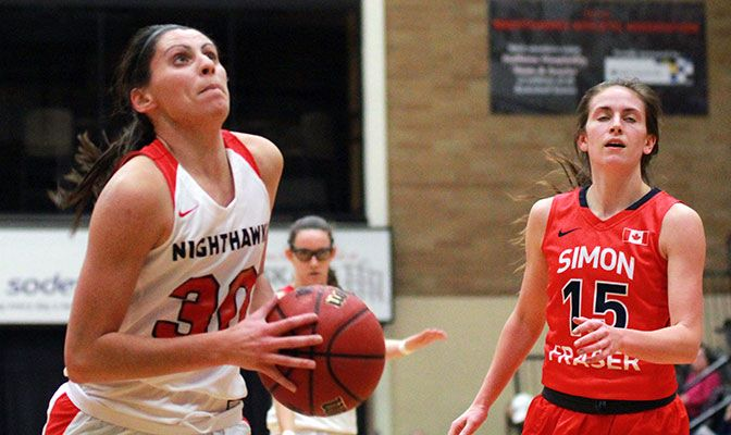 Carly played in 27 games and averaged 25 minutes for Northwest Nazarene.