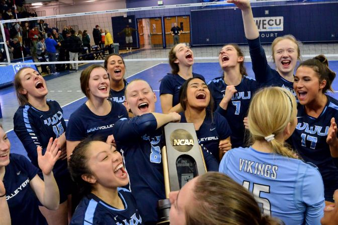 A five-set thriller handed Western Washington its third regional title in program history on Saturday night in Bellingham.