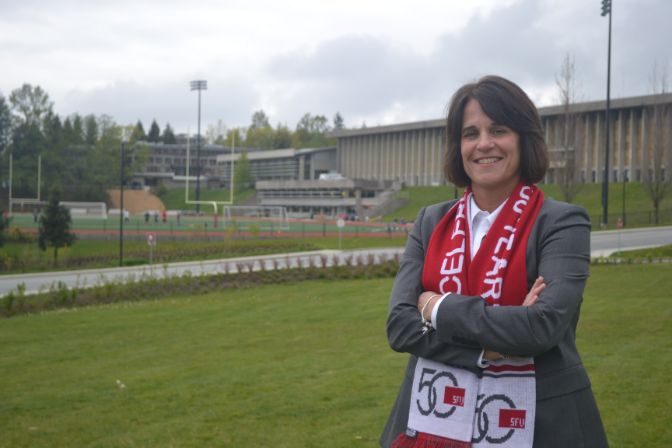 Simon Fraser athletic director Theresa Hanson has a big week ahead of her. She broke it all down on Tuesday's show.