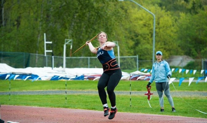 During the 2018 outdoor season Raquel placed second at the GNAC Championships and went on to place sixth at the NCAA Division II Championships in the javelin.