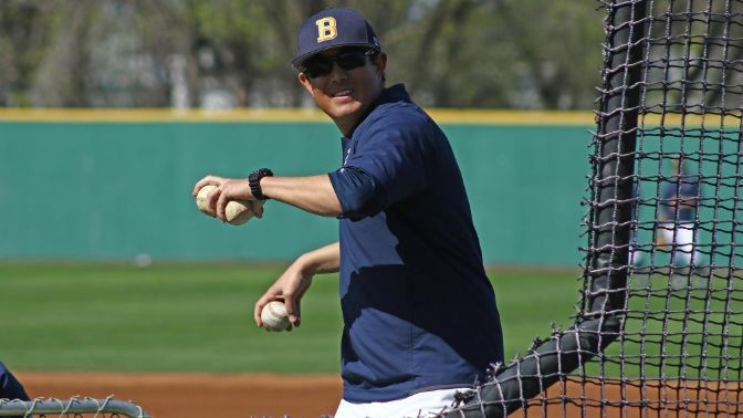 Montana State Billings baseball head coach Aaron Sutton joined Tuesday night's program after his team's road sweep last week.