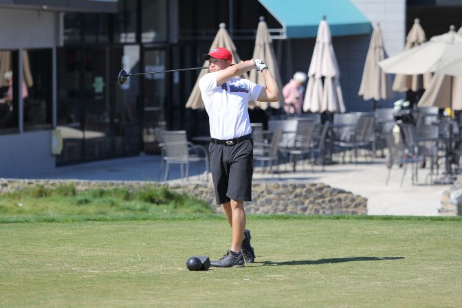 Simon Fraser junior Sy Lovan led off Tuesday night's program ahead of his team's appearance in the GNAC Championships.