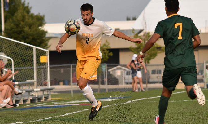 Luca Battistotti earned Second Team All-GNAC honors in 2019 as the Yellowjackets ranked second in the conference with six shutouts and third with 24 goals allowed.