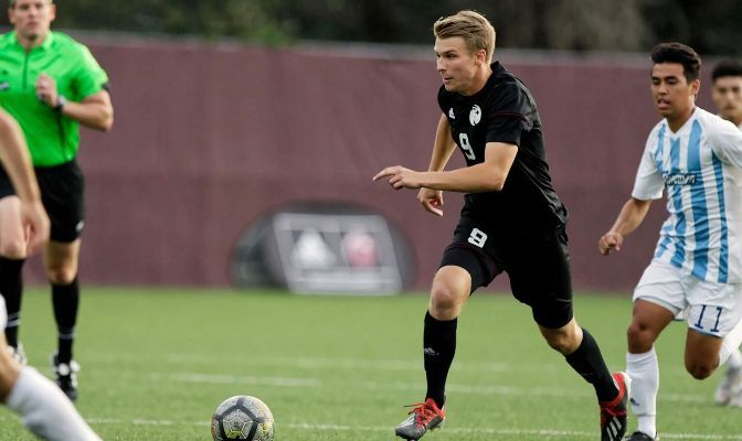 Seattle Pacific junior forward Alden Massey has two goals, two assists and six points on the season and is tied for ninth among GNAC players with 1.75 shots per game.