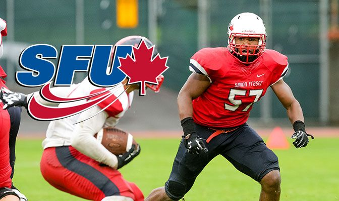 The Simon Fraser defense is anchored by senior linebacker Jordan Herdman, who was the 2014 and 2015 GNAC Defensive Player of the Year.
