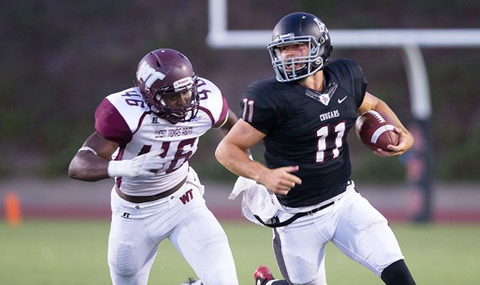 Azusa Pacific quarterback Andrew Elffers completed 12 of 17 passes in the win at Humboldt State, spreading his production to six different receivers.