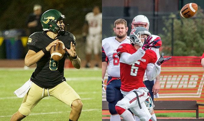 The Division II Game of the Week features the GNAC's top passer in Humboldt State's Robert Webber and the top receiver in Western Oregon's Paul Revis.